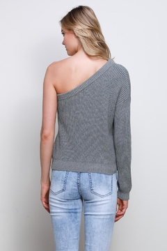 Mustard Seed One Shoulder Sweater - Alternate List Image