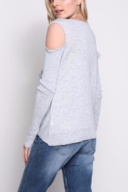 Mustard Seed Cold Shoulder Wrap Top - Other