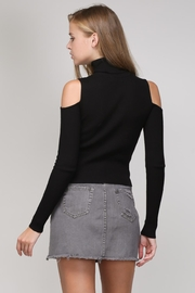 Mustard Seed Open Shoulder Sweater - Front full body