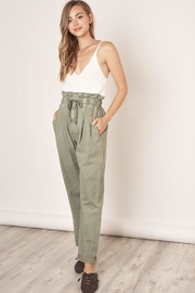 Mustard Seed Paperbag Drawstring Trousers - Product Mini Image