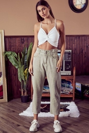 Mustard Seed Paperbag Waist Corduroy Pants - Front cropped