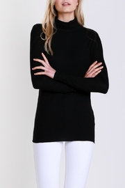 Mustard Seed Polar Neck Top - Front full body
