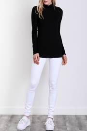 Mustard Seed Polar Neck Top - Front cropped