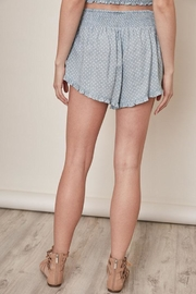 Mustard Seed Polka Dot Shorts - Side cropped