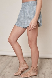 Mustard Seed Polka Dot Shorts - Front full body