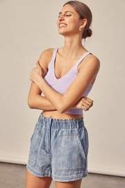Mustard Seed Ribbed Tank Top - Other