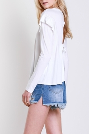Mustard Seed Shoulder Wing Top - Side cropped