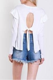 Mustard Seed Shoulder Wing Top - Other