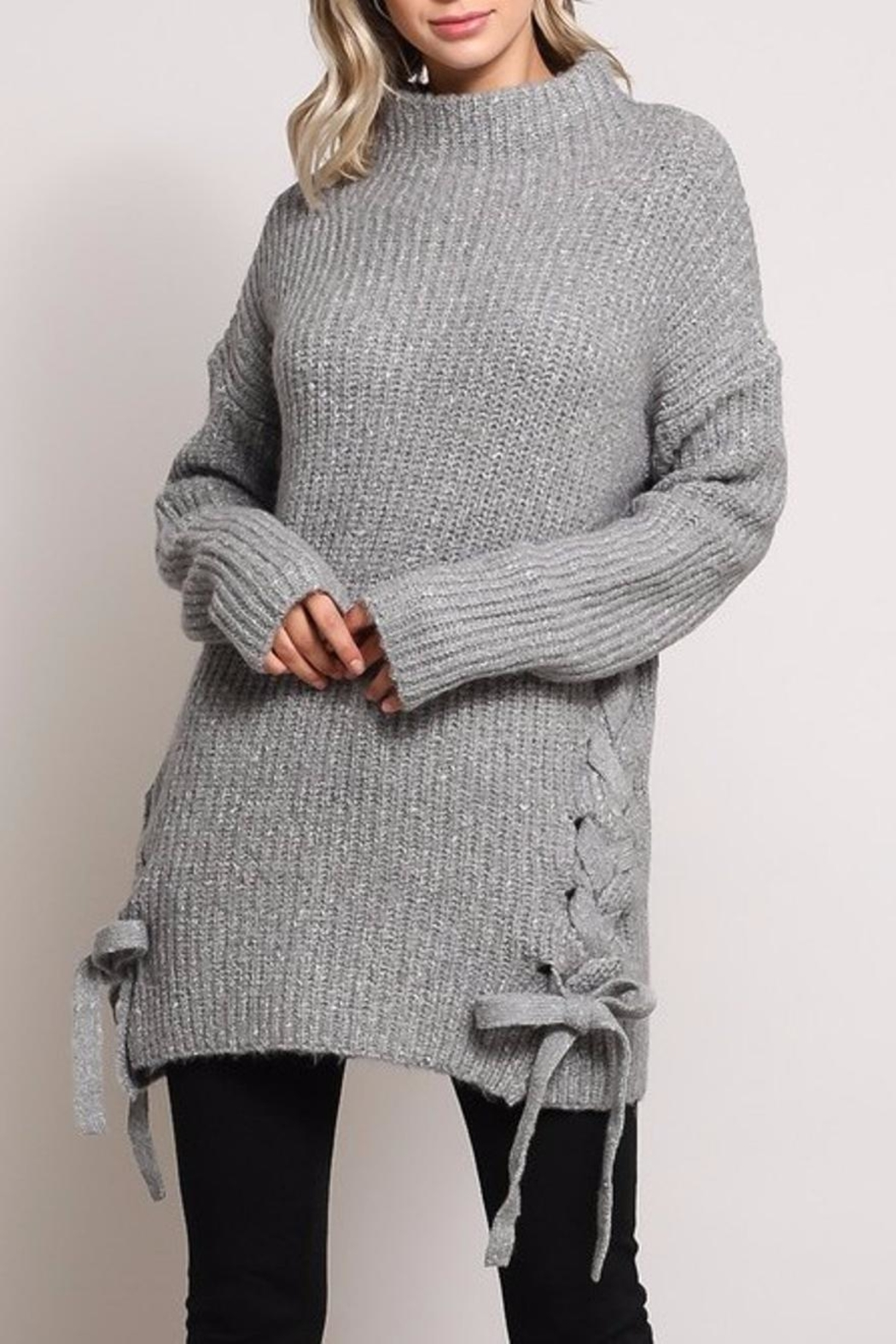 Mustard Seed Side Bow Sweater - Main Image
