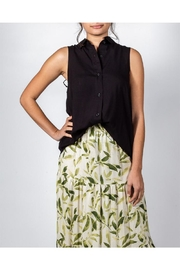 Mustard Seed Sleeveless Button-Down Top - Product Mini Image
