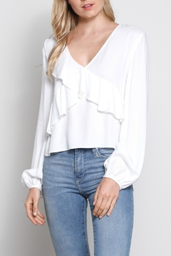 Shoptiques Product: Soft Ruffle Top