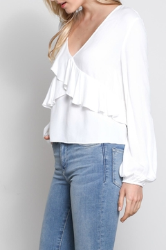 Mustard Seed Soft Ruffle Top - Alternate List Image