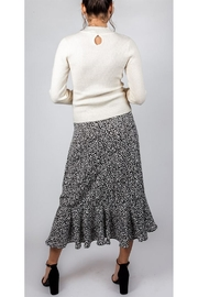 Mustard Seed Spotted Midi Skirt - Other
