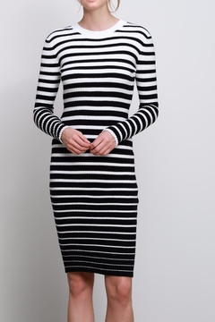 Mustard Seed Stripe Sweater Dress - Product List Image