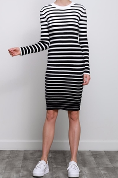 Mustard Seed Stripe Sweater Dress - Alternate List Image
