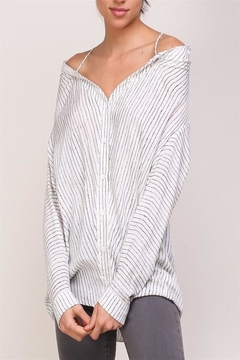 Mustard Seed Striped Top - Product List Image