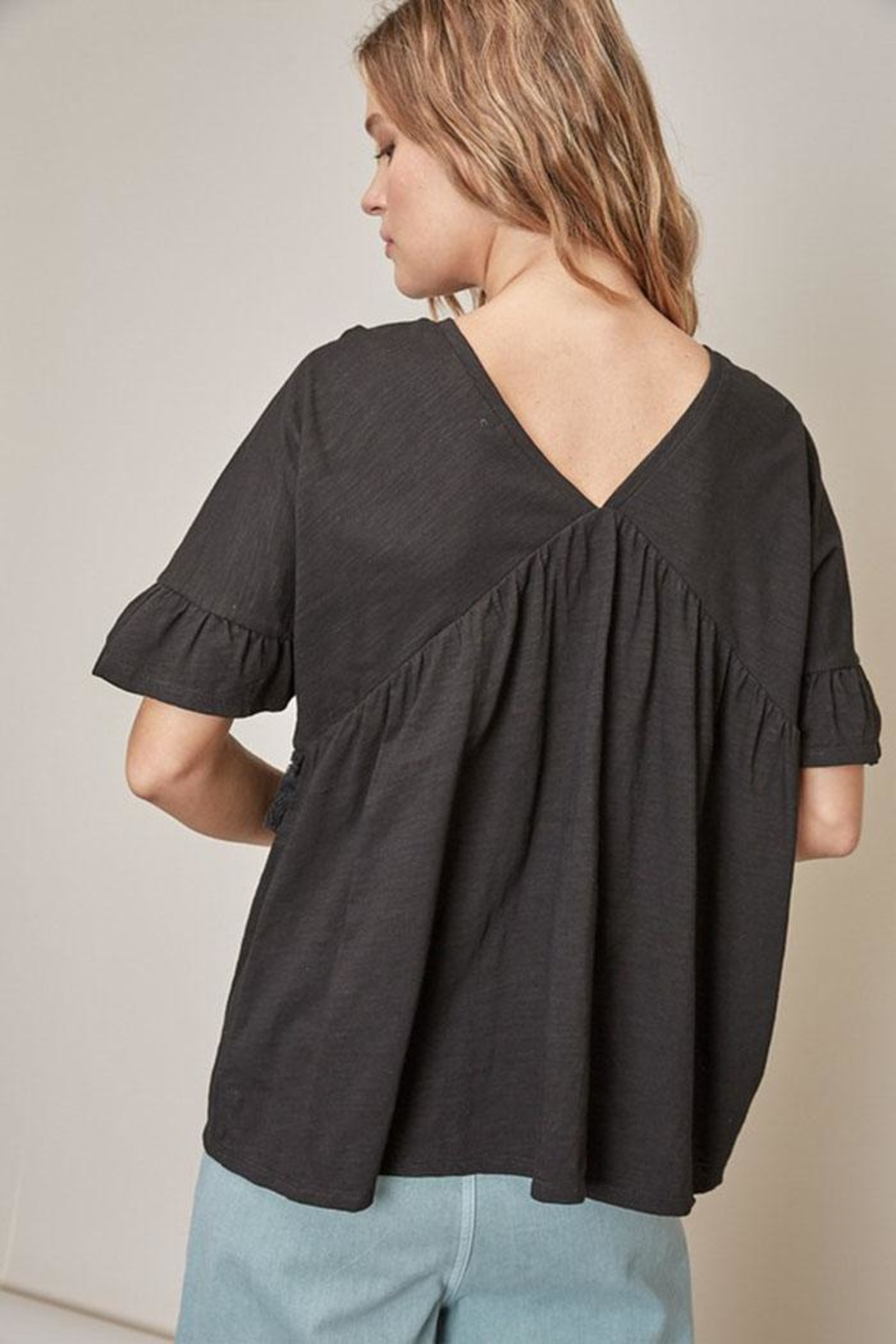 Mustard Seed Tassel Front Top - Side Cropped Image