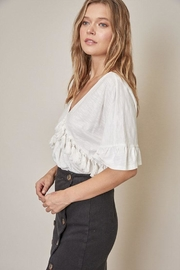 Mustard Seed Tassel Front Top - Front full body