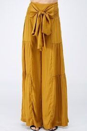 Mustard Seed Tie Front Pants - Product Mini Image
