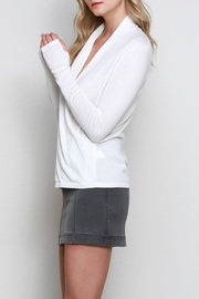 Mustard Seed Tulip Draped Top - Front full body
