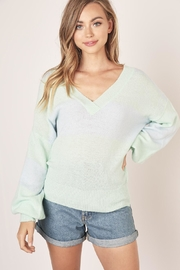 Mustard Seed Two Tone Sweater - Product Mini Image