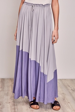 Shoptiques Product: Twotone Long Skirt
