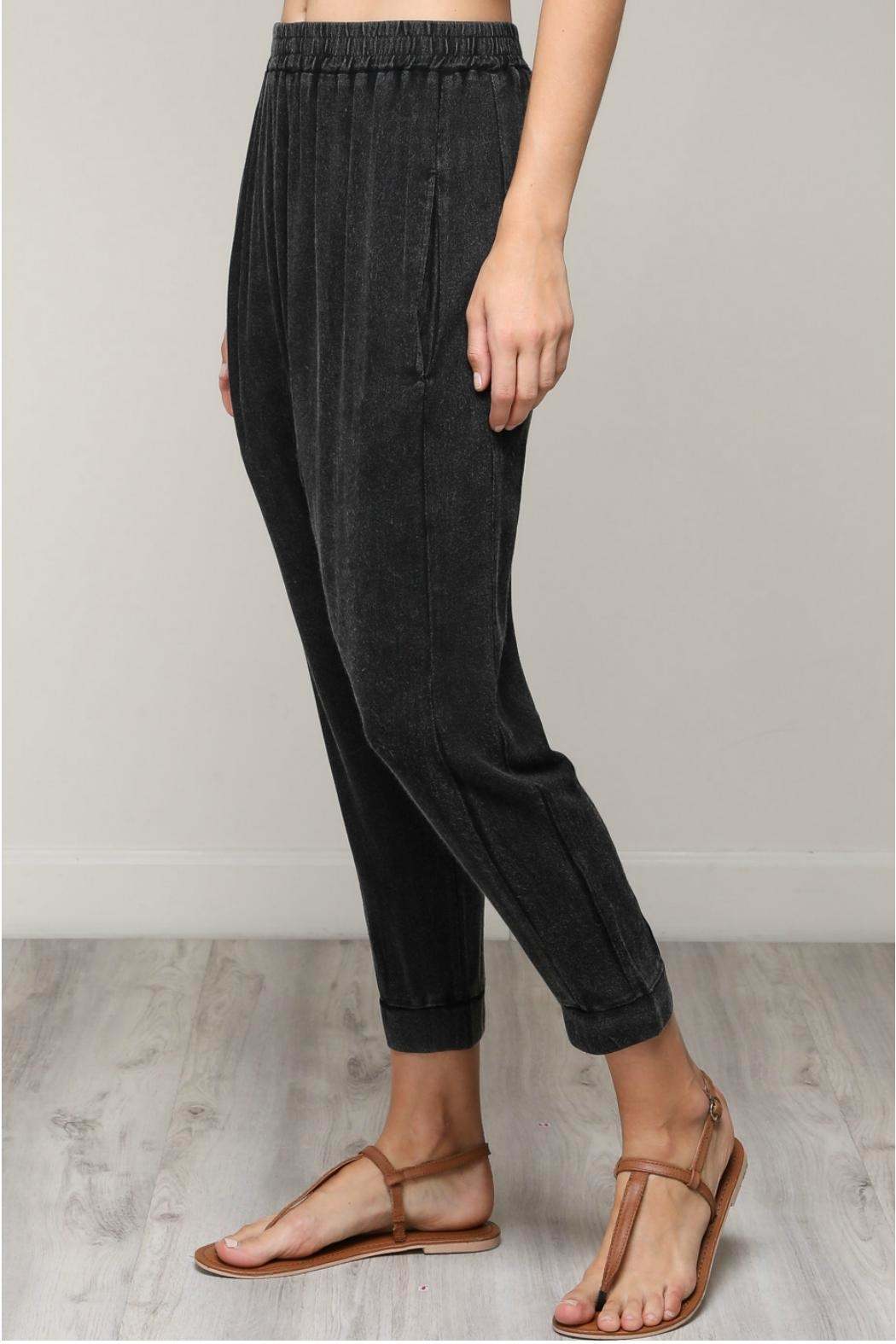 Mustard Seed Vintage Woven Pants - Side Cropped Image