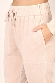 Mustard Seed Washed Velour Sweatpants - Other