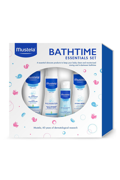 Mustela Bathtime Essentials Gift Set, for baby bathtime products with natural Avocado Perseose, Gentle, Safe & Hypoallergenic - Alternate List Image