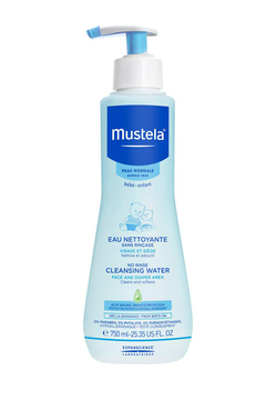 Mustela No Rinse Cleansing Water, Micellar Water Cleanser For Baby's Face, Body & Diaper 25.35 Oz - Alternate List Image