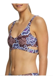 O'Neill Muted Floral Bikini-Top - Front full body