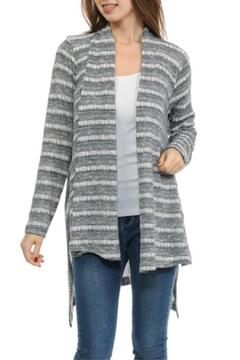 Shoptiques Product: Muted Stripe Cardigan