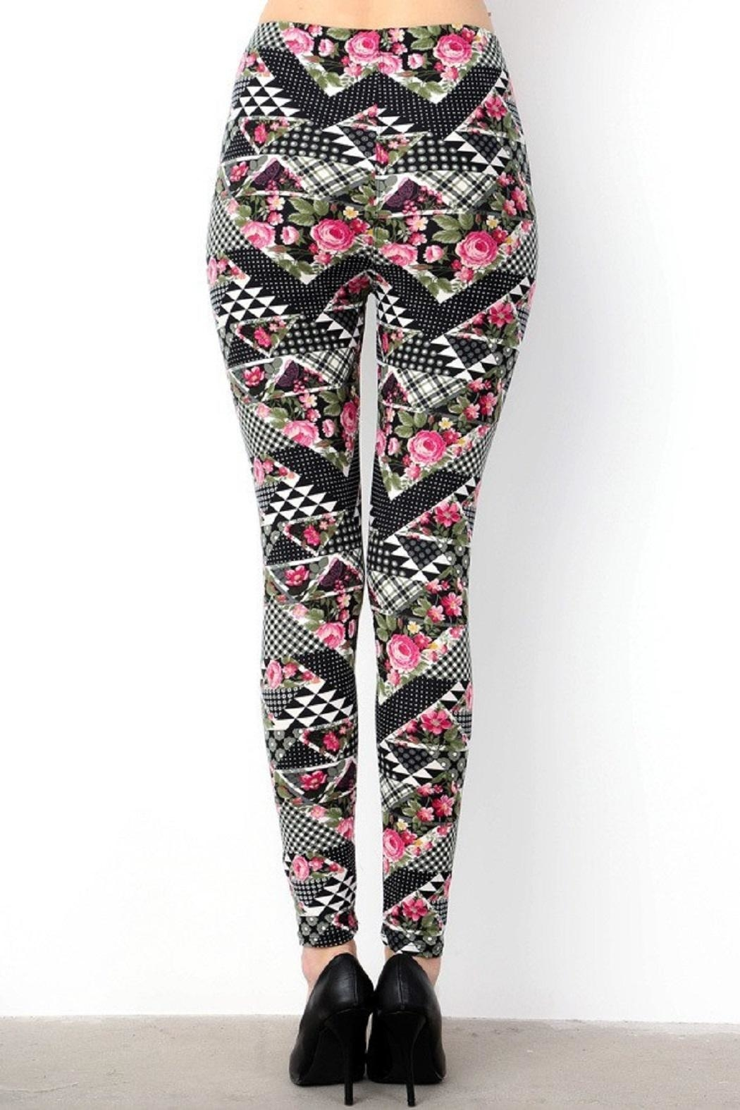 6a8ac543839 New Mix Muti Pattern Leggings from Pennsylvania by Empire Styles ...