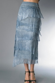 Tempo Paris Muti-Tiered Silk Skirt - Front cropped