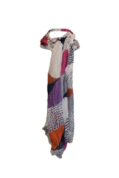 Estell Boutique Muticolor Print Scarf - Alternate List Image