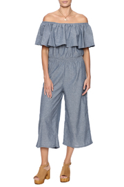 Muttle Muzzanghee Ruffle Top Jumpsuit - Product Mini Image