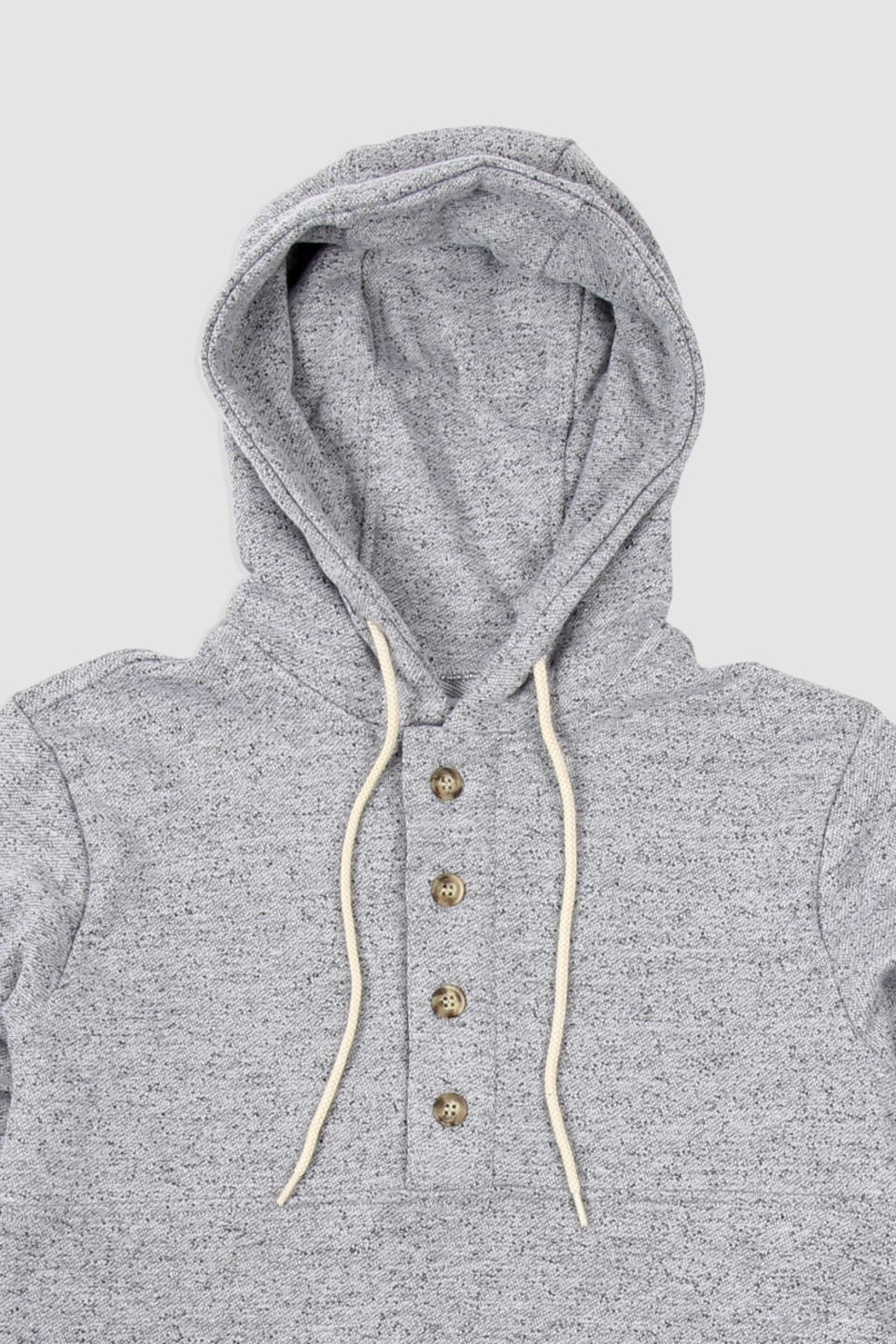 Muttonhead Camping Hoodie - Grey - Front Full Image
