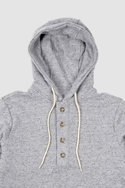 Muttonhead Camping Hoodie - Grey - Front full body