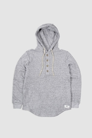 Muttonhead Camping Hoodie - Grey - Front cropped