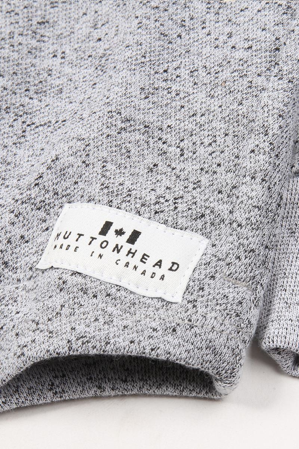 Muttonhead Camping Hoodie - Grey - Side Cropped Image
