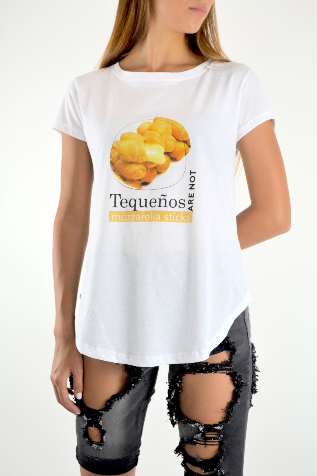 Muy Gala Tequenos T-Shirt - Front Cropped Image