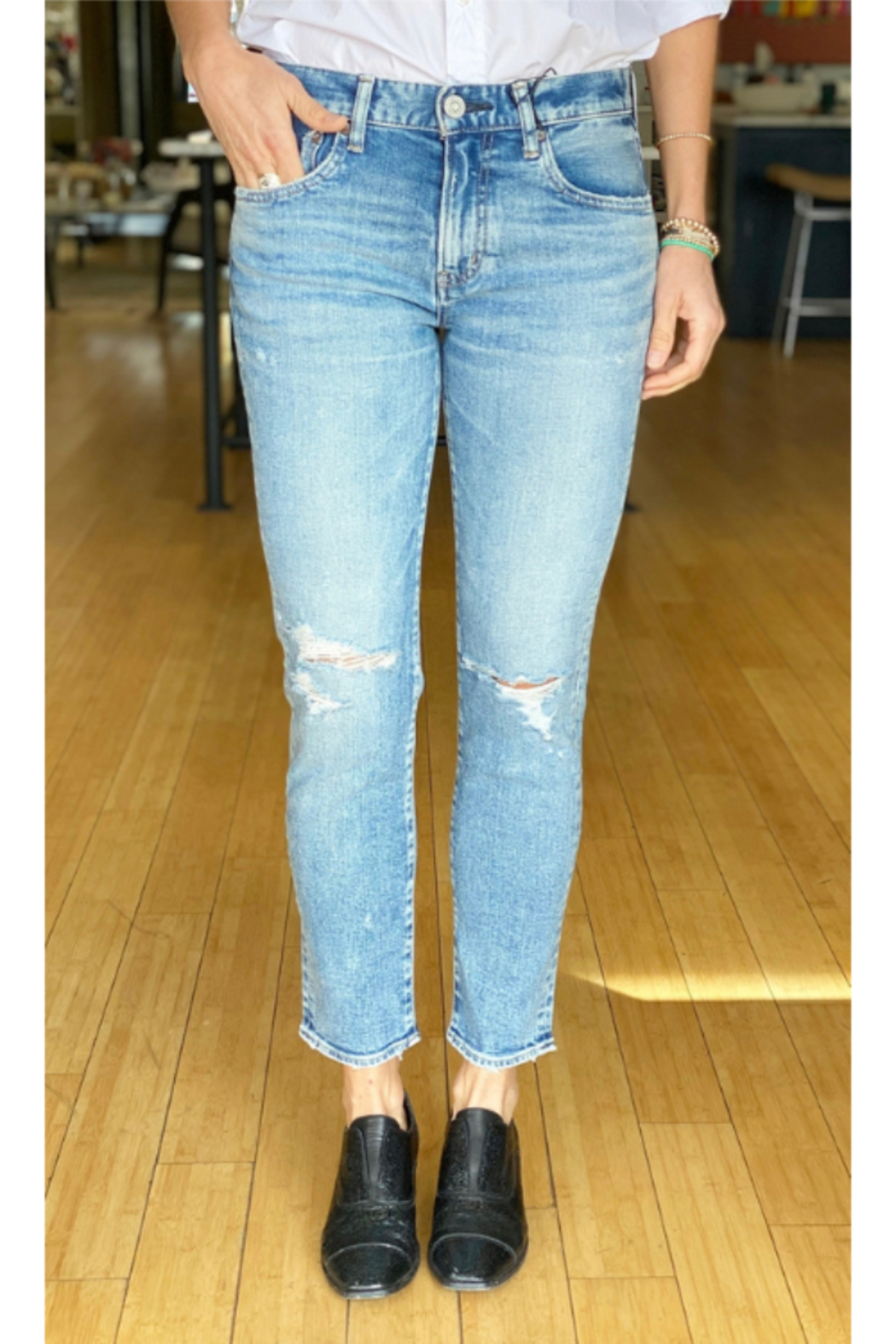 Moussy MV Billings Skinny - Front Cropped Image
