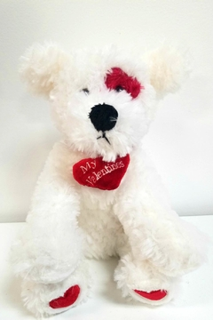 Shoptiques Product: My-1st-Valentines Plush Puppy
