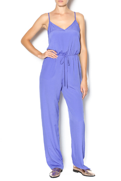 My Beloved Solid Drawstring Jumpsuit - Product List Image