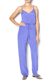 My Beloved Solid Drawstring Jumpsuit - Front cropped