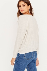 Project Social T My Christmas List Cozy Pullover - Side cropped
