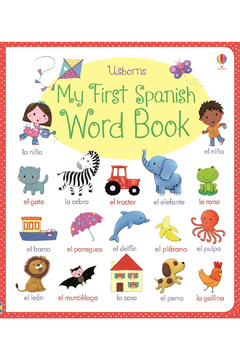 Usborne My First Spanish Word Book - Product List Image
