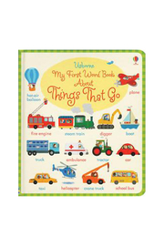 Usborne My First Word Book Things That Go - Product Mini Image