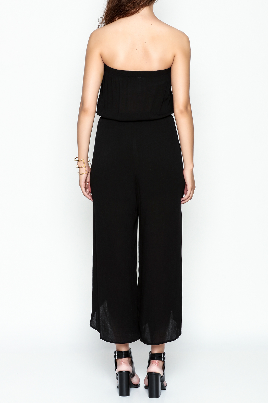 My Story Wrap Front Jumpsuit - Back Cropped Image