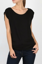 My Beloved Black Basic Top - Front cropped